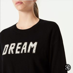 SANDRO Embellished Dream Wool Cashmere Sweater
